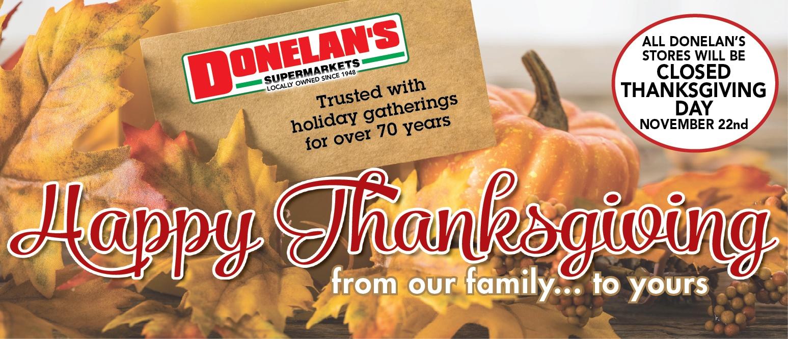 closed thanksgiving 2018