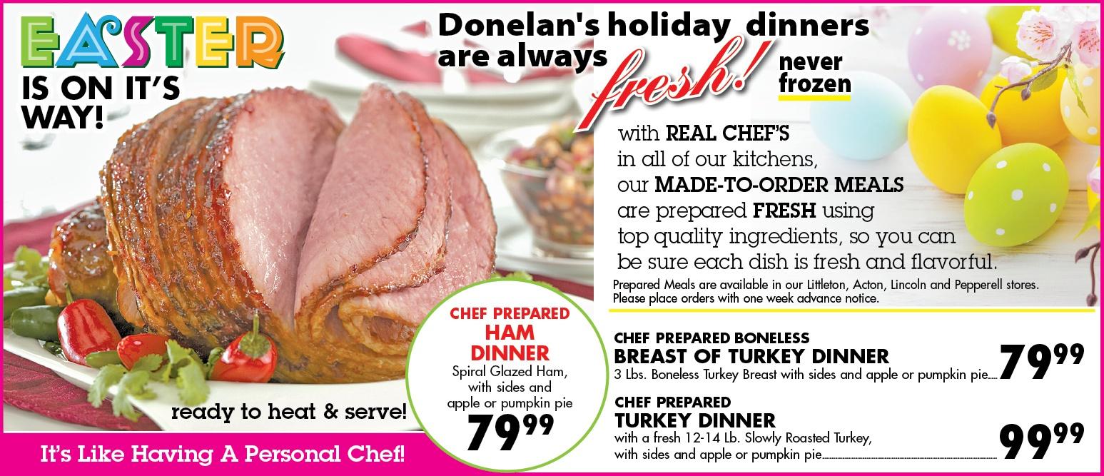 easter dinners platters 031618